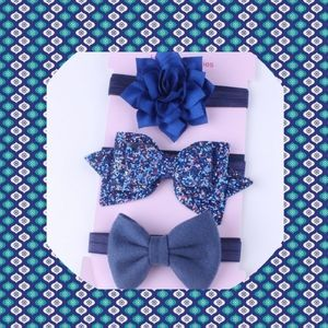 🐝🌻3Pcs/Set Baby Girls Bow Headband🍃🌞